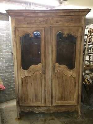 Stunning 19th Century French Glazed Antique armoire