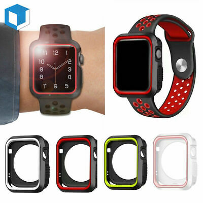 For Apple Watch Series 4 3/2/1 40/44 iWatch Sports Gel Slim Armor Case Cover
