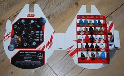 Star Wars Collection Complete 2017 25 Micro Popz  + Cofret Faucon Millenium