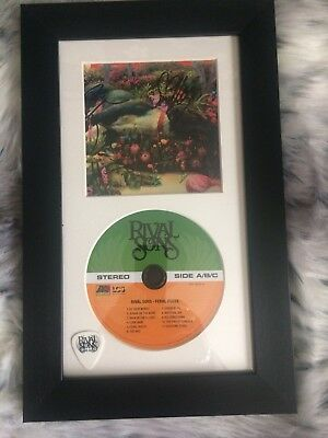Rival sons Signed Feral Roots Framed Set With Rare Pick