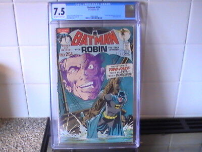 Batman # 234  Cgc 7.5 !   1St Silver Age Two Face Appearance - Adams Cover