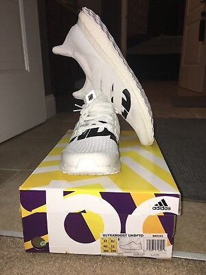 04c35bf01c46b ADIDAS ULTRA BOOST UNDFTD UNDEFEATED 4.0 WHITE BB9102 Used Size 12  Ultraboost