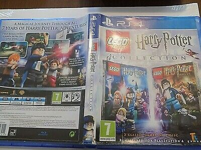 LEGO Harry Potter Collection PS4 2 Games on 1 Disc