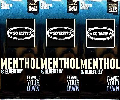 3 x PREMIUM Aroma for iQOS HEETS - Menthol Blueberry Flavor // WOW !