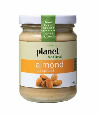 Planet Natural Almond Nut Spread, 250g