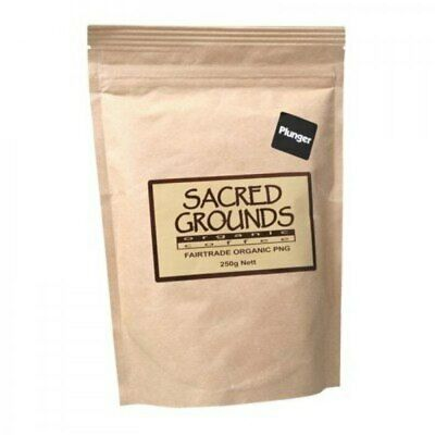 Sacred Grounds Coffee PNG Plunger, 250g