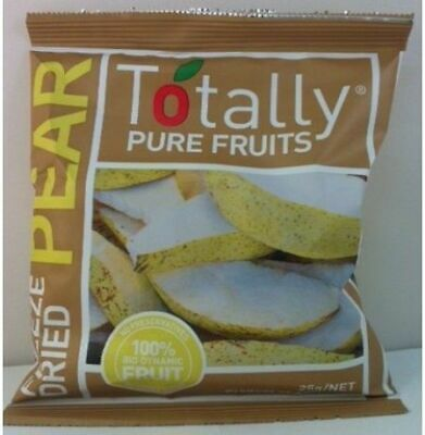 Totally Pure Fruits Freezer Dried Pears, 50g