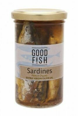 Good Fish Sardine Olive Oil Jar, 277g