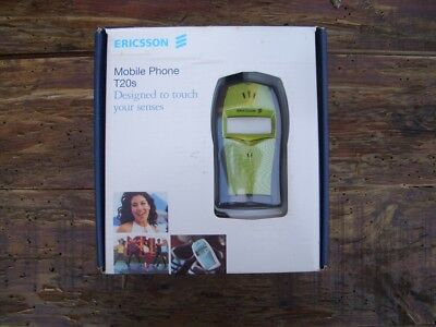 ERICSSON T20S LIME TWIST MOBILE PHONE RELEFONO MOVIL T20s/sc