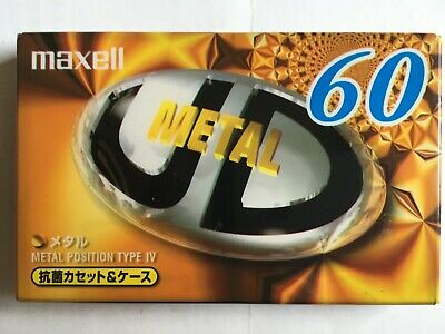 Maxell Metal Ud 60 Factory Sealed Audio Cassette Japan