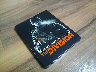 Tom Clancy's The Division Steelbook Steelcase G2 - NO GAME - RARE !! NEW!