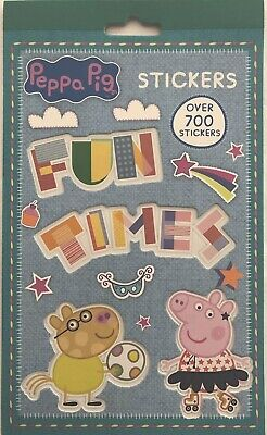 Peppa Pig Stickers Book - Over 700 Stickers - 9 Sticker Sheets - Loads Of Design