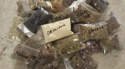30 Herb lot wiccan pagan witch herbs magick ritual