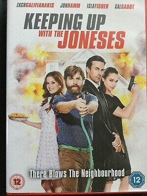 Keeping Up With The Joneses [DVD] - Fast Free Delivery