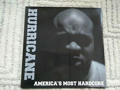 "Hurricane / DFL ‎– America's Most Hardcore 10"" Vinyl"