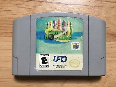 Super Bowling (Nintendo 64, N64) - Game Cartridge *VERY RARE* AUTHENTIC