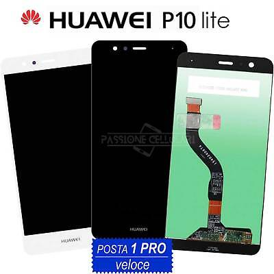 LCD DISPLAY + TOUCH SCREEN Originale HUAWEI P10 LITE WAS-LX1 LX1A Schermo Vetro