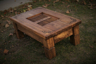 Tea and coffee Table 76 * 46 * 16cm/28cm Chinese Gongfu ceremony, Natural Wood