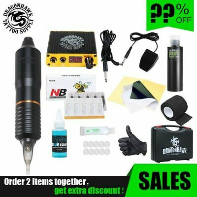 Professional Tattoo Rotary Pen Mini Tattoo Kit Machine Inks Set Tattoos Supplies