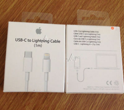 Genuine Apple USB C- To Lightning Sync Charger Cable (1m)    MQGJ2ZM/A- BOXED