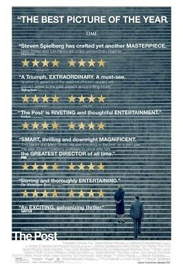 THE POST Original Movie Poster27x40 DS/Rolled - 2017 Steven Spielberg