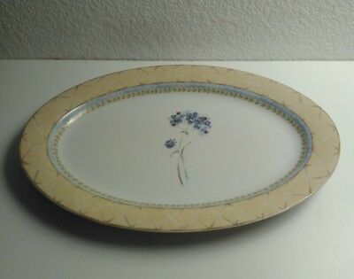 HERITAGE MINT 'ENCHANTED GARDEN' FINE CHINA PLATTER 14in.