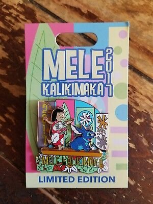 Disney Parks It's a Small World Mele Kalikimaka Lilo & Stitch 2017 Pin