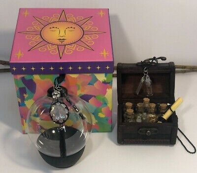 Witch Ball *Protection* W/ Bottle Necklace DIY Put Your Own Intentions