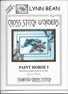 Set of 2 Horse Counted Cross Stitch Patterns (006)