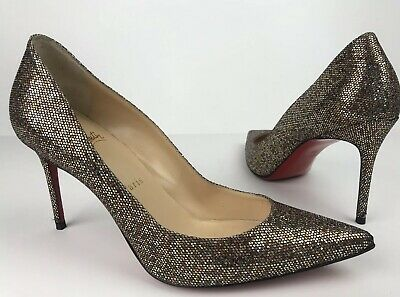 newest e7a83 5ee43 CHRISTIAN LOUBOUTIN DECOLLETE 554 85mm, Nude, Size 39.5 ...