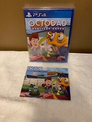 Octodad PS4 Limited Run Games #10 LRG Postcard Protective Case