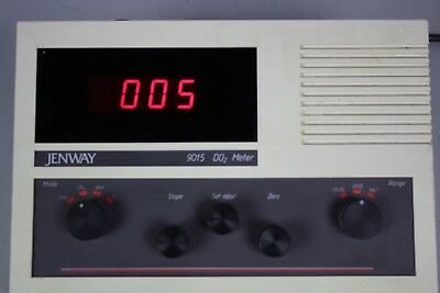Jenway 9015 DO2 Meter Dissolved Oxygen w/ manual