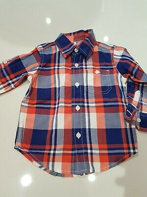 Baby Gap Checked Shirt 18 to 24 Months