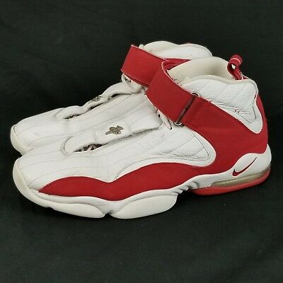 90479d20513fa NIKE AIR MAX Penny IV Size 14 Mens DS White Red 312455-161 Retro