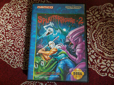 Splatterhouse 2 - Authentic - Sega Genesis - Case / Box Only!