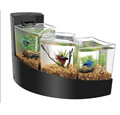 Aqueon Betta Falls Kit - Black