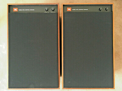 JBL 4312A Control Monitor Speakers (Left and Right Configuration)
