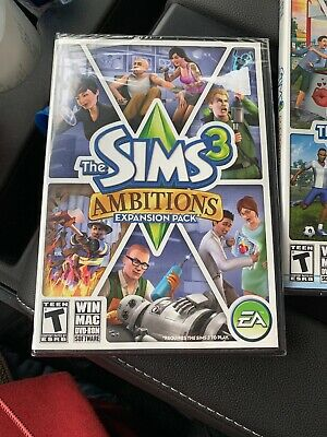 The Sims 3 Ambitions Expansion Pack And Seasons New Sealed For PC