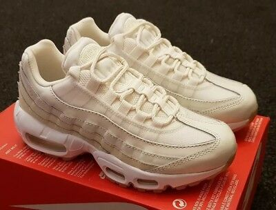 premium selection be657 c2b48 Nike Air Max 95 WMNS trainers sail fossil UK 3.5 (new) 307960-
