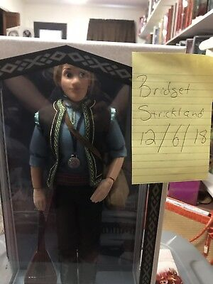"""Disney Store Frozen Kristoff Limited Edition 17"""" Doll - LE3500"""