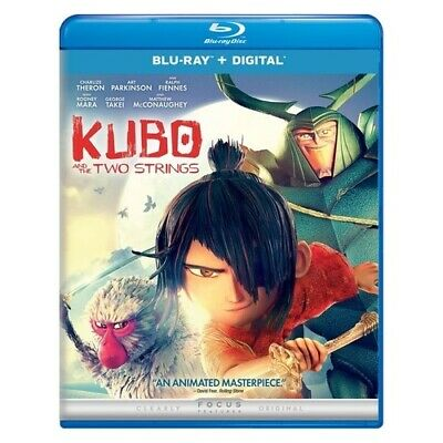 Uni Dist Corp Mca Br62196186 Kubo & The Two Strings (Blu-Ray/digital) New Pac...