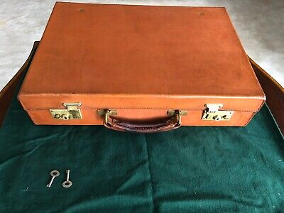 Papworth Gentlemen's Leather Briefcase (Just Refurbished by Swain Adeney Brigg)