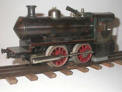 Bing live steam locomotive in scale 0, probably from the 30's.