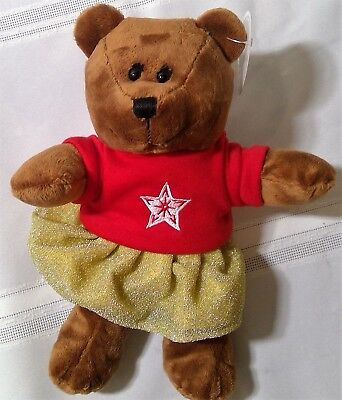 Starbucks coffee limited edition bear 2018 barista new animal toy girl clothes