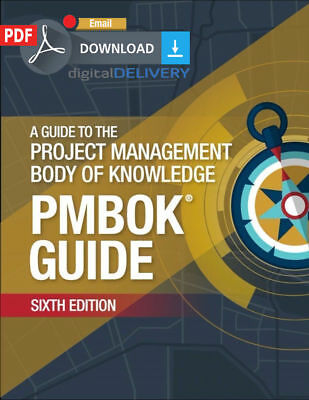 [PDF] PMI PMBOK Guide 6th Edition 2018 (Email Deivery).