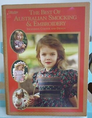 Vintage The Best Of Australian Smocking & Embroidery Magazine Great Book