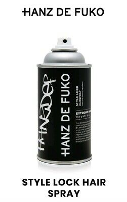 HANZ DE FUKO Style Lock Hair Spray Extreme Hold 9 OZ  NEW