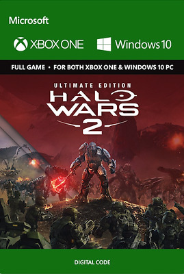 Halo Wars 2 Ultimate Edition Xbox One PC Key (Digital Download, Region Free)