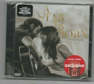 Lady Gaga A Star is Born Soundtrack CD Limited Edition Target Exclusive Shallow