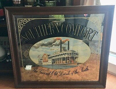 Southern Comfort Mirror Large
